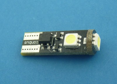 T10 CAN BUS 3SMD5050 white